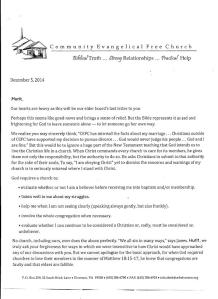 Dec 5 Letter