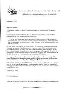 Sept 22 Letter