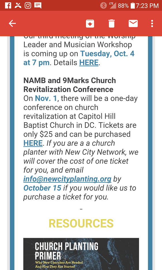 Why is mclean bibles new city network promoting 9 marks church this afternoon new city network sent out an email not only promoting kenji adachis church plant but also is promoting the upcoming 9 marks conference at malvernweather Choice Image